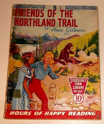#266 Schoolgirl's Own Library Comics ~ FRIENDS OF THE NORTHLAND TRAIL ~ 1957
