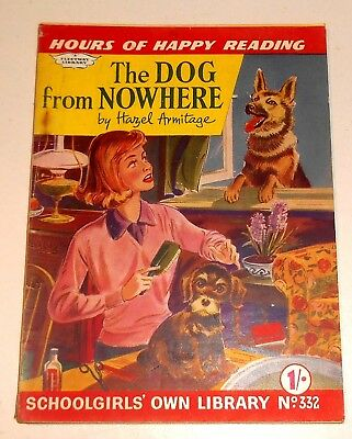 #332 Schoolgirl's Own Library Comics ~ THE DOG FROM NOWHERE ~ 1960