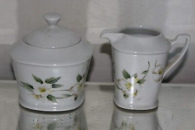 Schirnding Sugar Bowl and cream jug