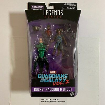 Marvel Legends Rocket Racoon & Groot BAF Guardians Of The Galaxy Vol. 2 SEALED