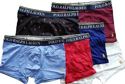 """Polo Ralph Lauren 2X White/Red Boxers - """"REDUCED TO CLEAR"""" SALE"""