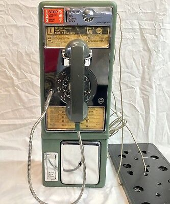 Western Electric Single Slot Payphone 1D, Rotary Dial