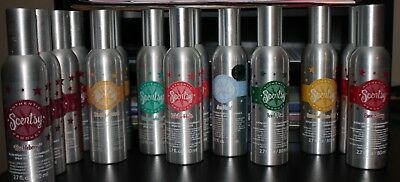 New Scentsy Room Sprays - Some Retired Scents