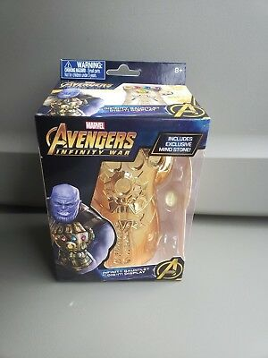 Marvel Infinity Gauntlet Dig-It Display with Soul Gem NIB Infinity War Black Box