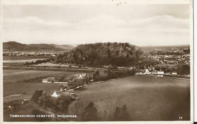 Inverness Tomnahurich Cementery Excell Series RP postcard No 17