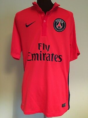 Official Paris Saint-Germain Away Football Shirt By Nike Size Adult Small