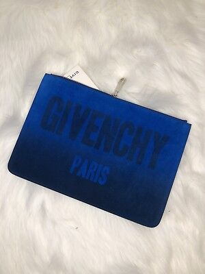 f21adbd0de AUTHENTIC GIVENCHY LOGO Suede Wallet Vintage Givenchy Wallet Brown ...