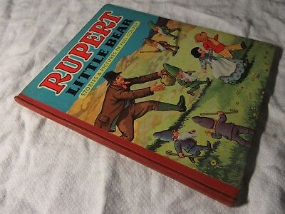 1951 RUPERT Little Bear Stories & Pictures in Full Colour - VG Condition