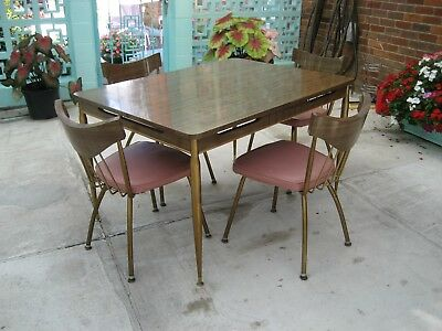 Howell mid-century modern kitchen table and chairs