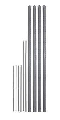 85 in. High Industrial Shelving Post Pack [ID 102078]