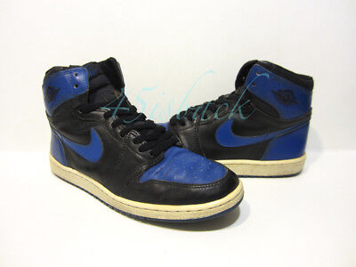 1985 OG ORIGINAL Vintage Nike Air Jordan I 1 Royal Blue Size 10.5 ... 5ff5e6d6a898