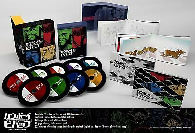 NEW Cowboy Bebop Complete Series Exclusive Limited Edition Blu-ray/DVD BOXSET!