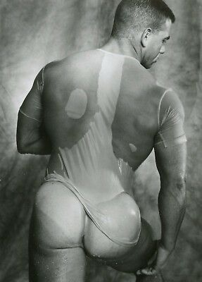3 of 6 Vintage Colt Studio Smooth Bubble Butt Nude Muscular Jake Tanner Gay16131