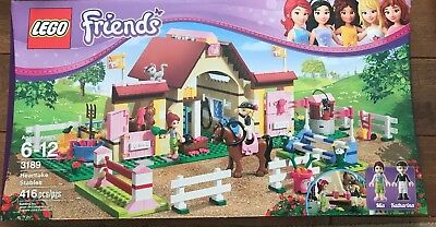 Lego Friends 3189 Heartlake Stables 100 Complete W Manuals