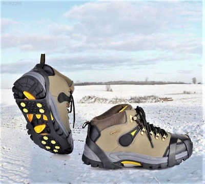 Snow Anti Slip Shoe Ice Gripper For Shoes Boots Safety Soles Overshoe Grip Work~