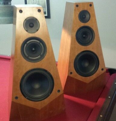 Vintage Sony SS-M7 Speakers Audiophile Made in USA Nice DFW Local Pickup