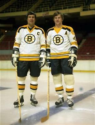 Bobby Orr and Johnny Bucyk Boston Bruins 8x10 Photo