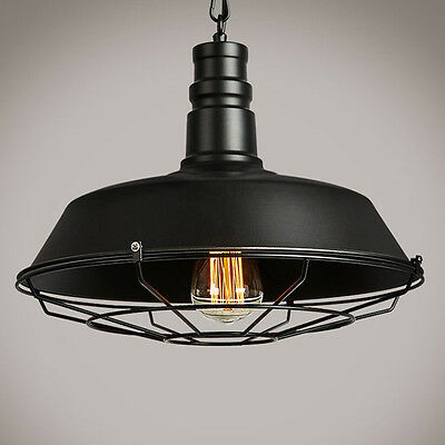 Loft Bar Antique Vintage Industrial Shade Pendant Light Ceiling Lightshades ARU1
