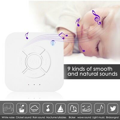 Sound Spa Relax Machine White Noise Easy Sleep Nature Night Peace Therapy New