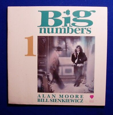 Big Numbers 1 of 2 : Alan Moore & Bill Sienkiewicz. 1st. VFN