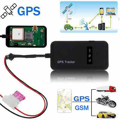 Realtime GPS GPRS GSM Tracker Spy Tracking Device For Car/Vehicle/Motorcycle New