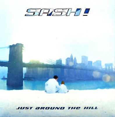 Sash! ‎CD Single Just Around The Hill - Germany (M/EX+)