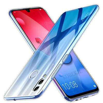 For Huawei P Smart 2019 Case Crystal Clear Transparent Best Silicone Gel Cover
