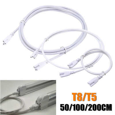 T5 T8 Tube Connector Cable 3 pin Wire Cord For Integrated LED Fluorescent Light