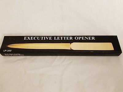 Executive Letter Opener 24k gold plated Solid Brass LP-300