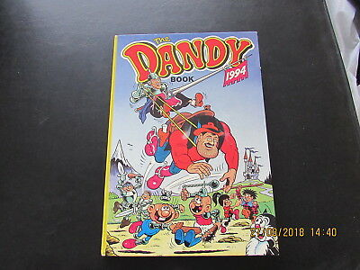 The  Dandy   Book    1994  Very Good For Age