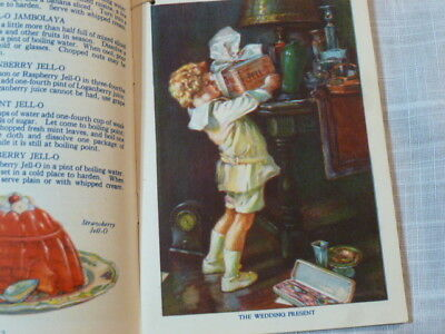 Antique 1924 Jell-o Recipe Booklet Advertisement Pictures