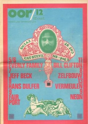OOR 1971 12 Cat Stevens JEFF BECK Fairport Convention EVERLY BROTHERS H Dulfer