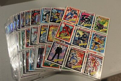 1990 IMPEL MARVEL UNIVERSE SERIES 1 162 CARD COMPLETE SET NEAR MINT Ultra pro