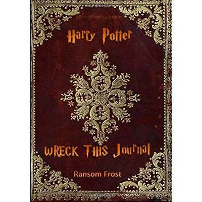 Wreck This Harry Potter Journal Frost, Ransom