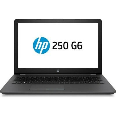 HP 250 G6 Intel i3-7020U Dual Core 4GB RAM 128GB SSD Full HD Windows 10 Home