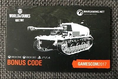 World of Tanks | Bonus Code | Dicker Max | Gamescom 2017