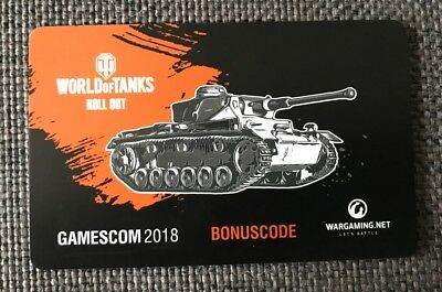 World of Tanks | Bonus Code PZ.KPFW.III AUSF.K | Gamescom 2018