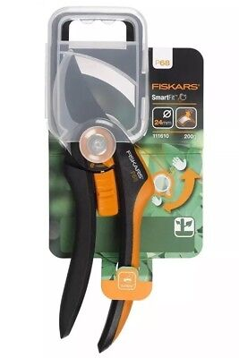 Fiskars Bypass Secateurs Pruners P68 SmartFit™ Cutting 24mm Branches Gardening