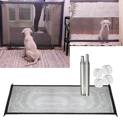 Mesh Magic Pet Dog Gate Safe Guard And Install Anywhere Pet Safety Enclosure #G