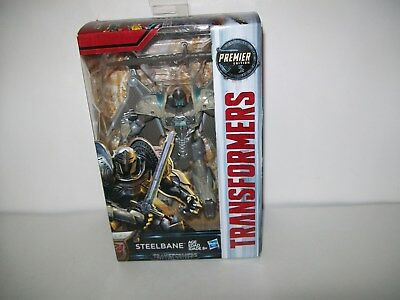 Transformers The Last Knight Deluxe Premier Edition Steelbane New