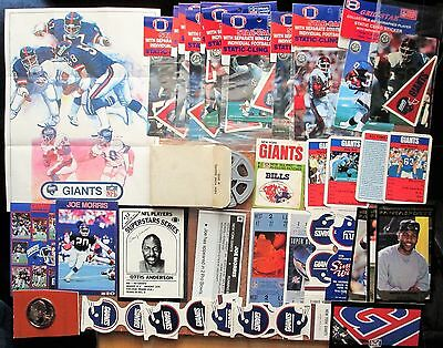 New York Giants Lot 200+ Stancraft Kellogg's Coke Bimbo Slides Cragstan King B**