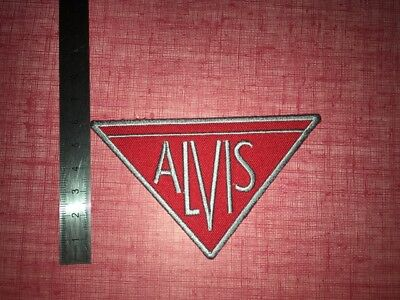 A051 Patch Ecusson Alvis 10*6 Cm