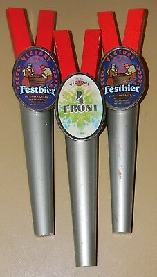 Victory Brewing Beer Tap Handle Knob Lot Of 3 Oktoberfest Festbier 4 Front Ipa