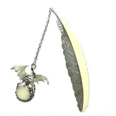 Luminous Flying Dragon Feather Bookmark Reading Collection 8C
