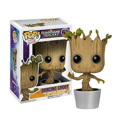 Funko Pop! Marvel: Guardians Of The Galaxy Dancing Groot Bobble Action Figure