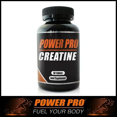 Power Pro Nutrition | Creatine Monohydrate 1000mg Tablets Increase Performance