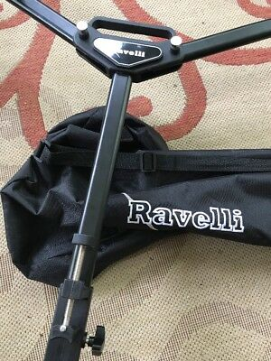 Ravelli Atd Tripod Dolly For Camera Photo Lighting Sliding
