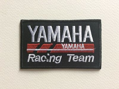 A085 Patch Ecusson Yamaha Racing 9*5,5 Cm