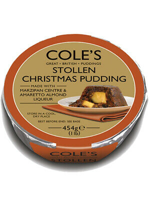 Stollen Christmas Pudding 454g (Cole's Traditional Bakery)