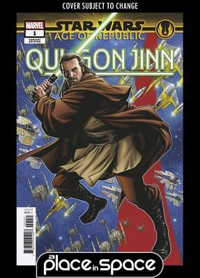 Star Wars: Age Of Republic: Qui-Gon Jinn #1E - Puzzle Variant (Wk49)
